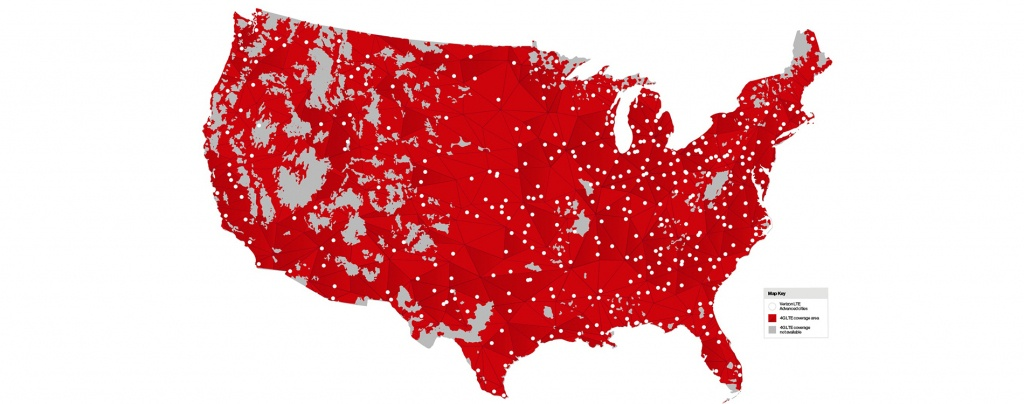 Mobile Users In 461 Markets Today Get 50% Faster Peak Speeds At No - Verizon Coverage Map Texas