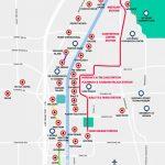 Monorail, Tram & Strip Map | Las Vegas Maps | Vegasjourney   Printable Map Of Las Vegas Strip