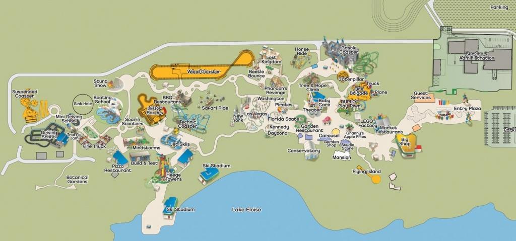 More Details Released For Legoland Florida - Opening Set For October - Legoland Florida Map