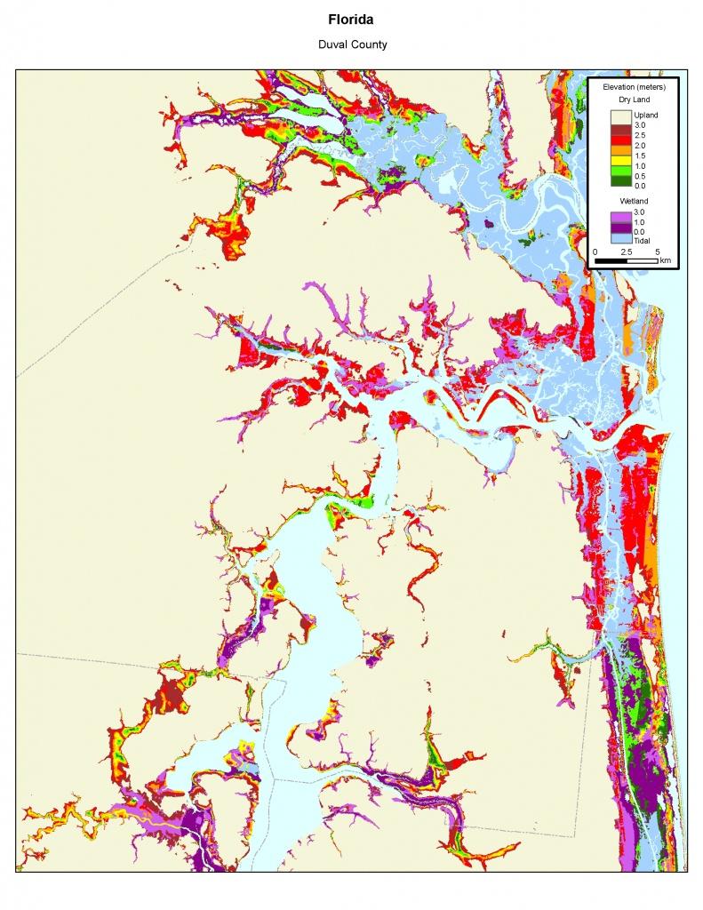 More Sea Level Rise Maps Of Florida's Atlantic Coast - South Florida Sea Level Rise Map