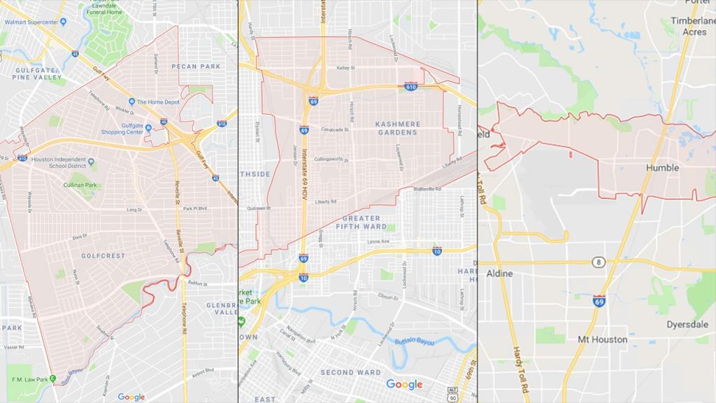 Mosquitoes In 3 Harris County Zip Codes Test Positive For West - West Nile Virus Texas Zip Code Map
