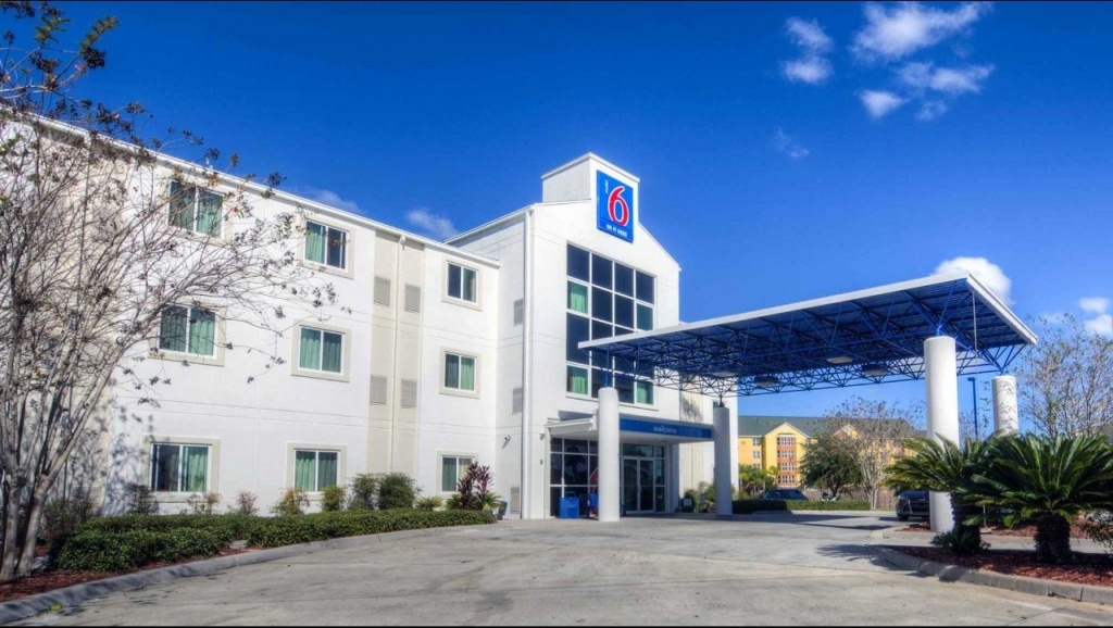 Motel 6 Orlando - International Dr Hotel In Orlando Fl ($83+ - Motel 6 Florida Map