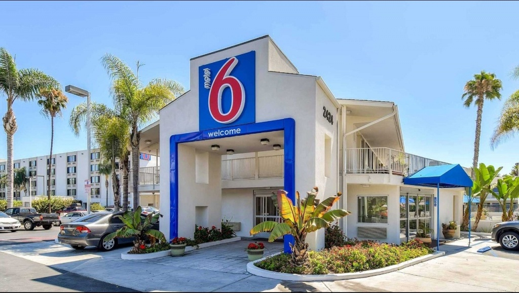 Motel 6 San Diego Hotel Circle - Mission Valley Hotel In San Diego - Motel 6 Locations California Map