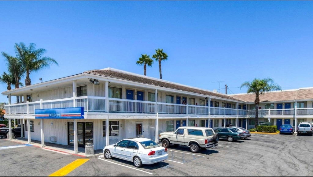 Motel 6 Santa Ana Hotel In Santa Ana Ca ($73+) | Motel6 - Motel 6 Locations California Map