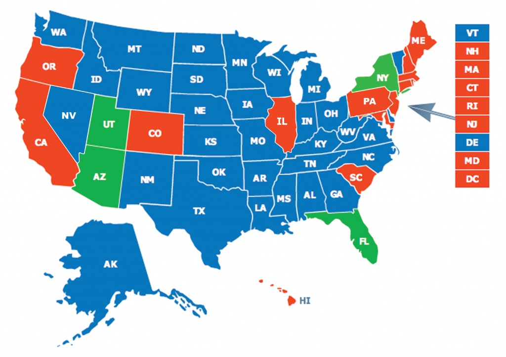 Multi-State Ccw Class - Florida Concealed Carry States Map