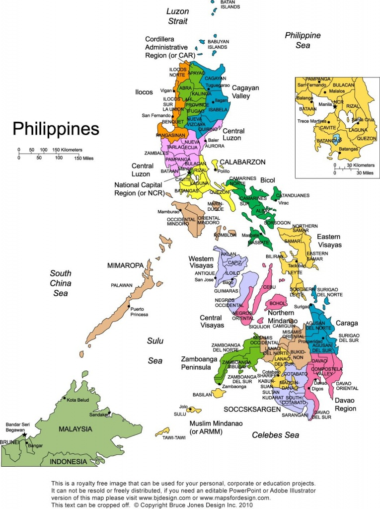 My Family Is From Sulu And Iloilo. Maybe One Day I Can Visit - Printable Map Of The Philippines