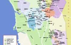 Sonoma Wine Country Map California