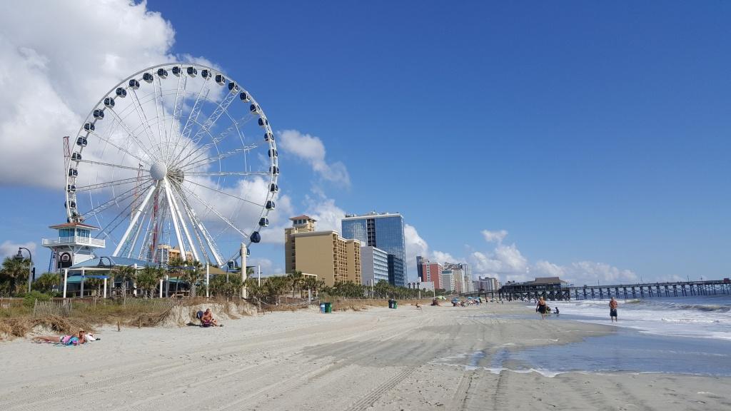 Myrtle Beach, South Carolina - Wikipedia - Myrtle Beach Florida Map