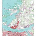Mytopo Palmetto, Florida Usgs Quad Topo Map   Palmetto Florida Map