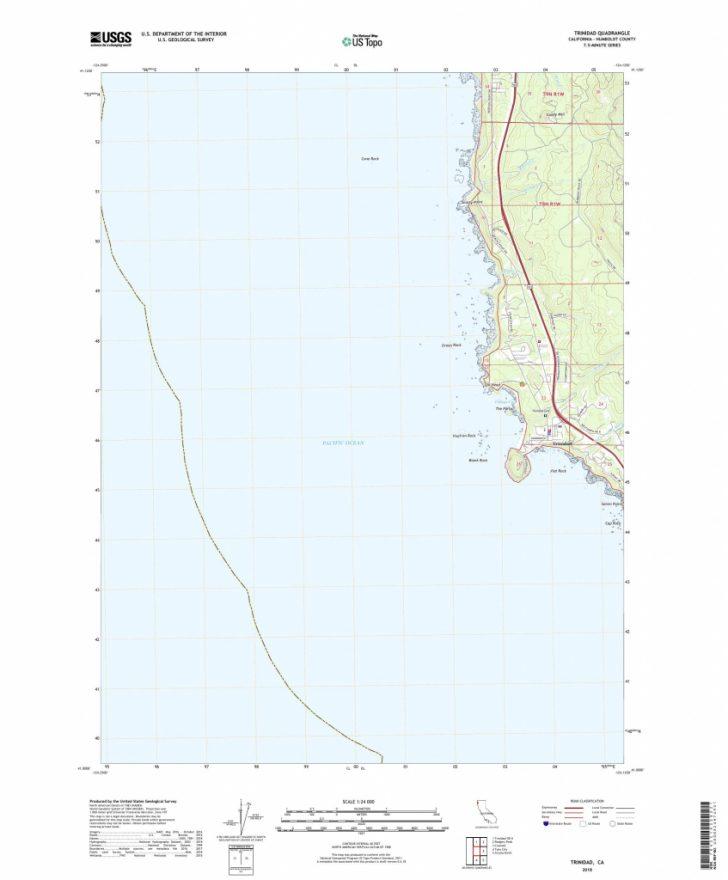 Trinidad California Map