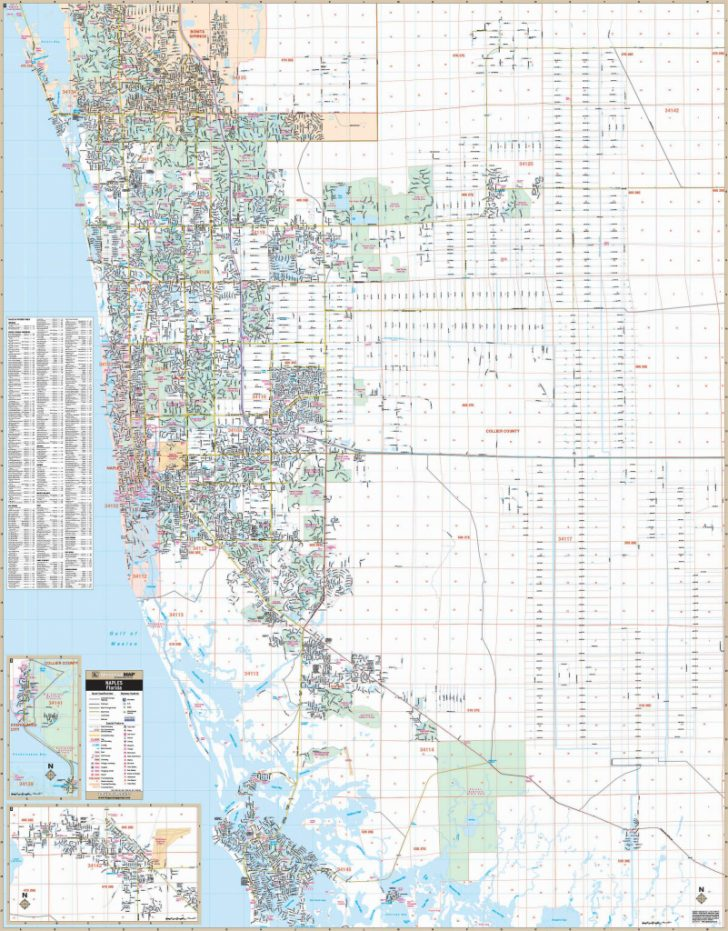 Collier County Florida Map