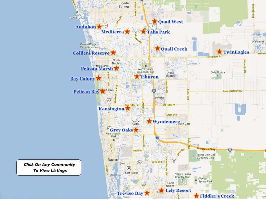 Naples Luxury Golf Real Estate - Google Maps Naples Florida Usa
