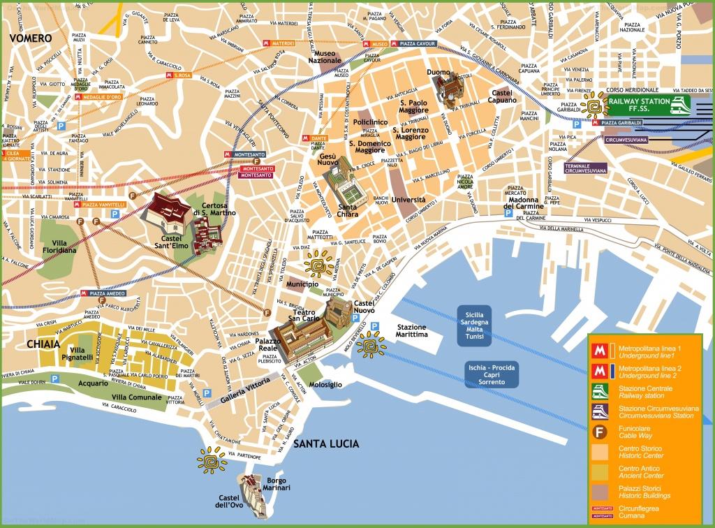 Naples Maps | Italy | Maps Of Naples (Napoli) - Printable Street Map Of Naples Florida