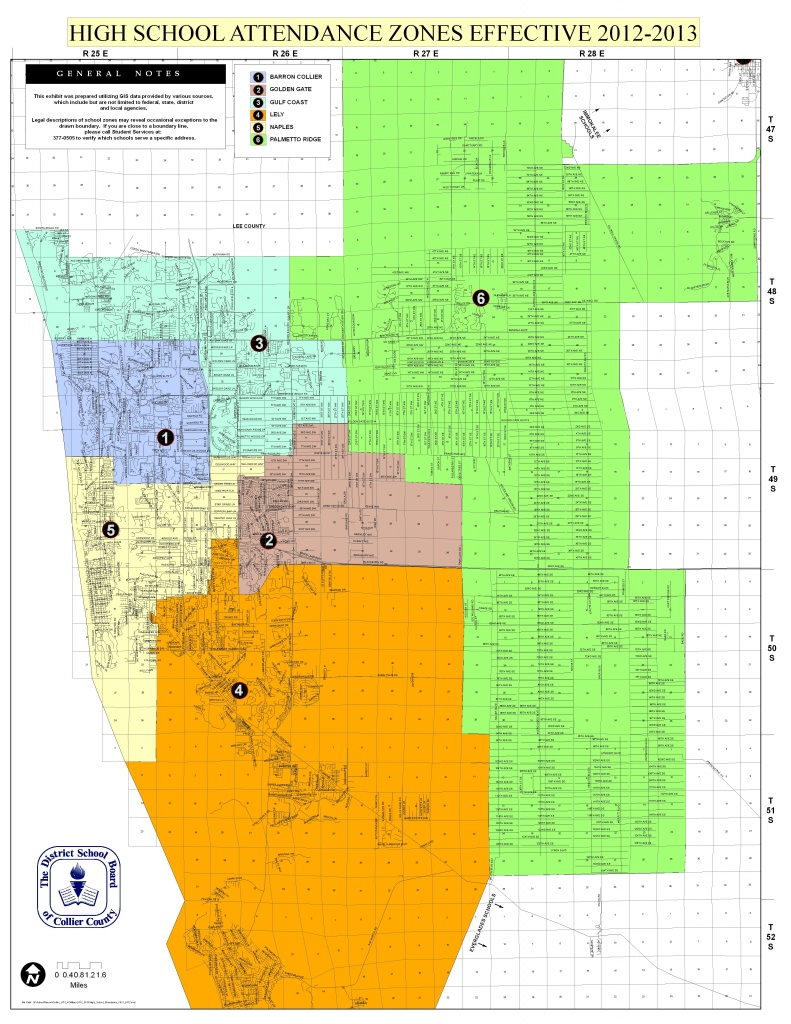 Naples School Districts Real Estate - Florida School Districts Map