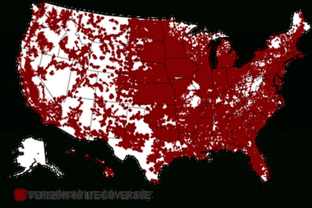 "National Advertising Division Calls On Verizon To Discontinue ""more - Verizon Coverage Map Texas"