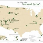 National Park Map Usa And Travel Information | Download Free   Printable Map Of National Parks