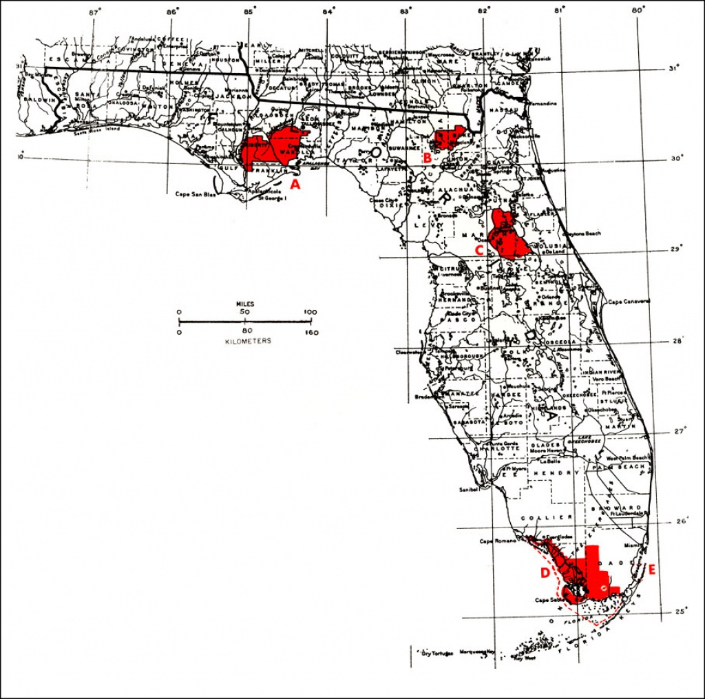 National Parks Florida Map And Travel Information | Download Free - National Parks In Florida Map