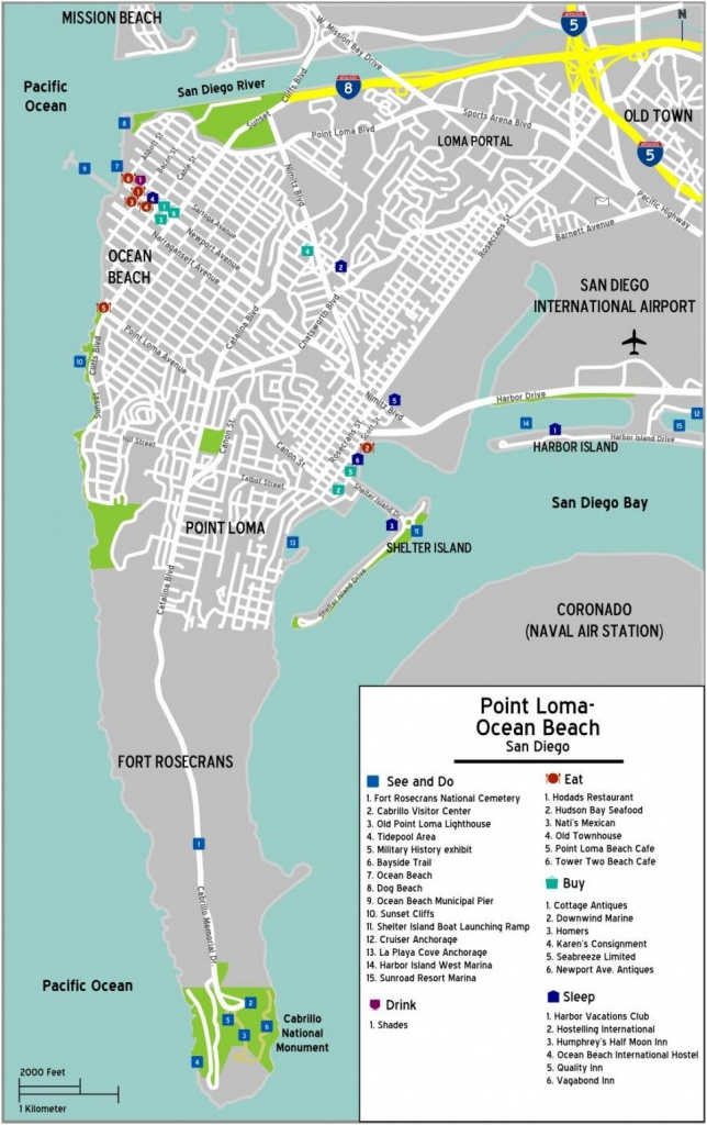 Naval Base Point Loma Map - Point Loma Base Map (California - Usa) - Map Of Navy Bases In California