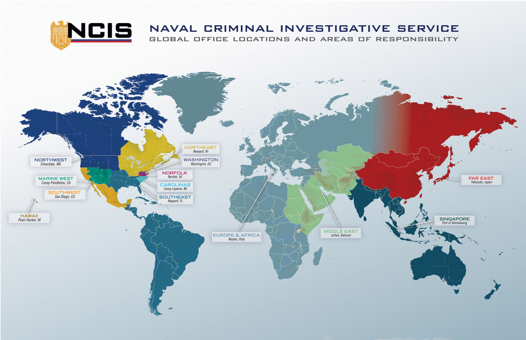 Ncis Locations - Florida Navy Bases Map