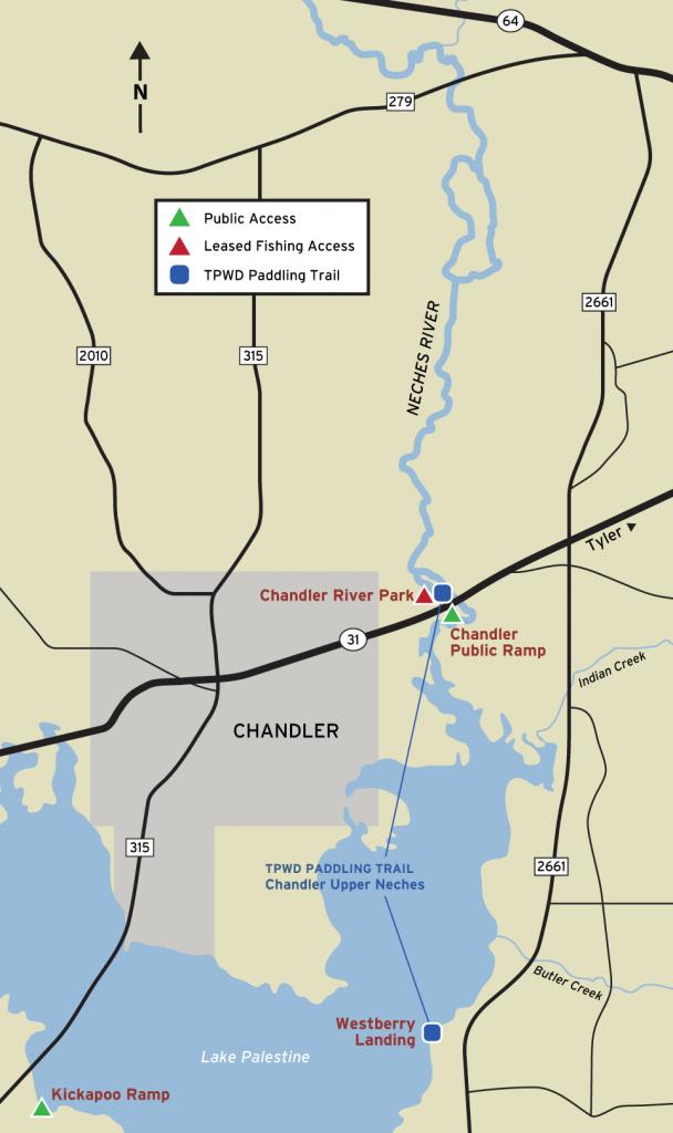 Neches River Fishing - Texas Lake Maps Fishing