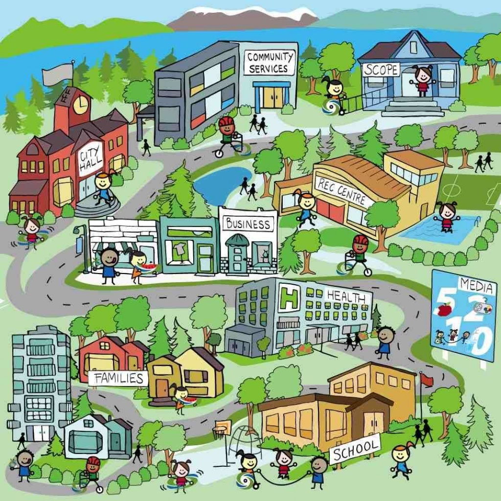 Neighborhood Map Kids - Google Search | Social Studies | Map, Map - Community Map For Kids Printable