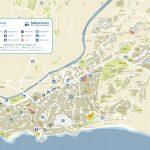 Nerja Tourist Map   Printable Street Map Of Nerja Spain