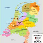Netherlands Maps | Maps Of Netherlands – Printable Map Of The Netherlands