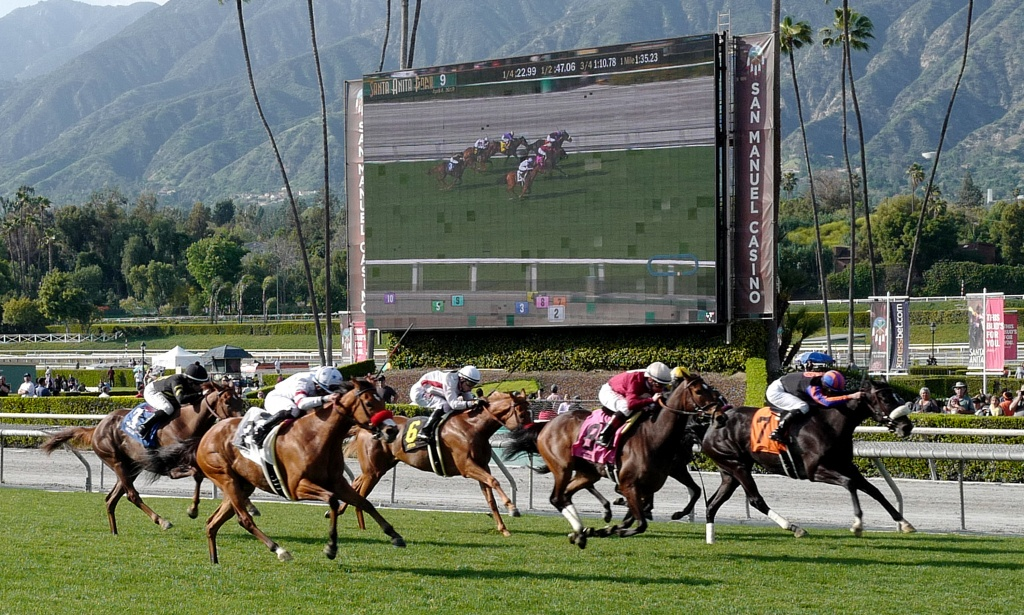 New Bill Would Allow State To Suspend Horse Racing At Troubled - Horse Race Tracks In California Map