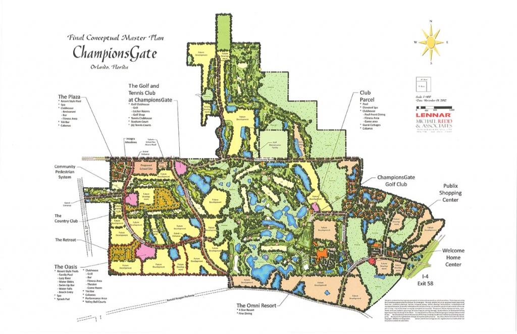 New Homes | Championsgate - Champions Gate Florida Map