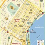 New Orleans French Quarter Map   Printable French Quarter Map