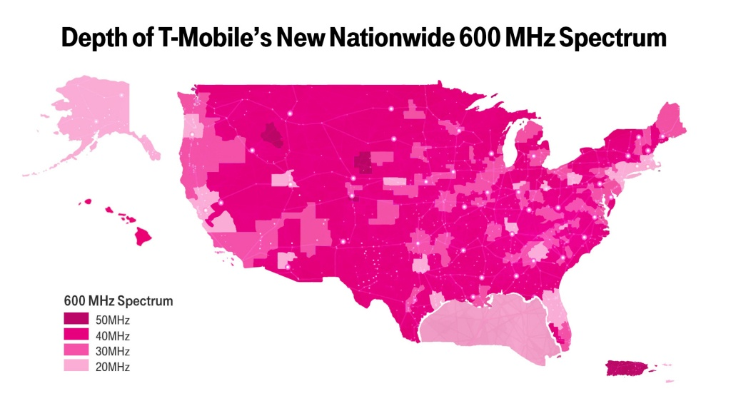 New T-Mobile Upgrade May Boost Your Coverage—If You Have The Right - T Mobile Coverage Map California