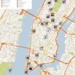 New York City Manhattan Printable Tourist Map   Sygic Travel   Printable Map Of New York City Tourist Attractions