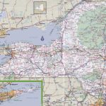 New York Road Map   Printable State Road Maps