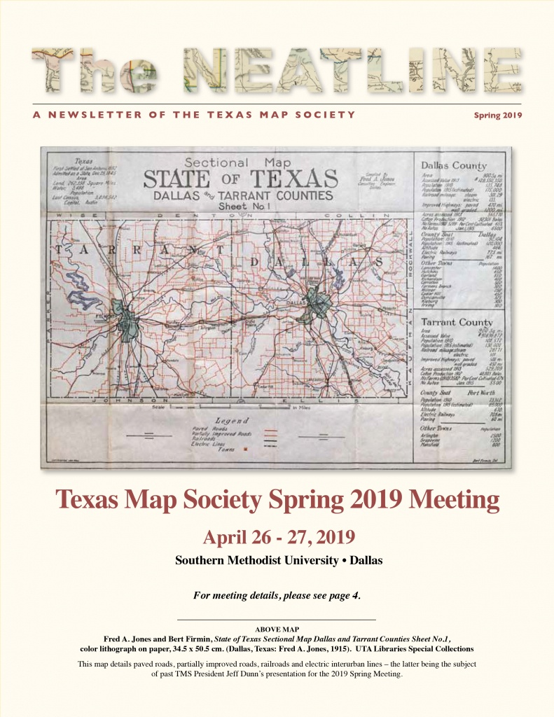 Newsletter   Texas Map Society - Spring Texas Map