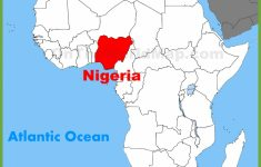 Nigeria Location On The Africa Map – Printable Map Of Nigeria