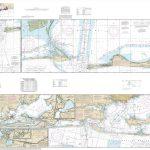 Noaa Chart   Intracoastal Waterway Santa Rosa Sound To Dauphin   Santa Rosa Sound Florida Map