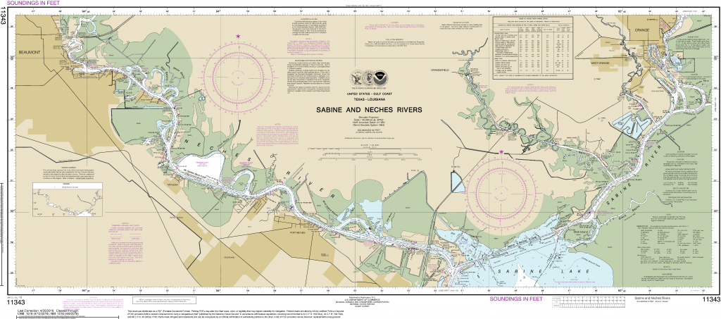 Noaa Nautical Charts In  Format - Boating Maps Florida