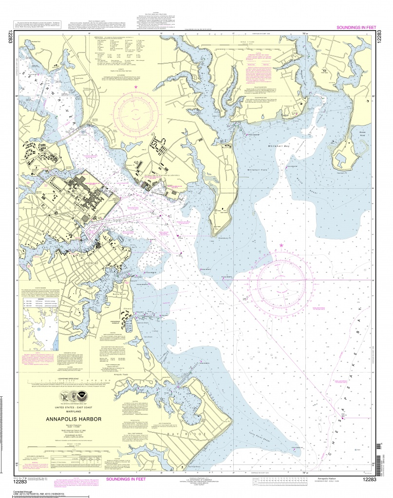 Noaa Nautical Charts Now Available As Free Pdfs | - Water Depth Map Florida