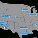 Nonstop Destinations To/from Tucson International Airport (Tus)   Florida Airports Map