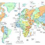 North America Time Zone Map Pdf Free Printable Map   World Time   World Time Zone Map Printable Free