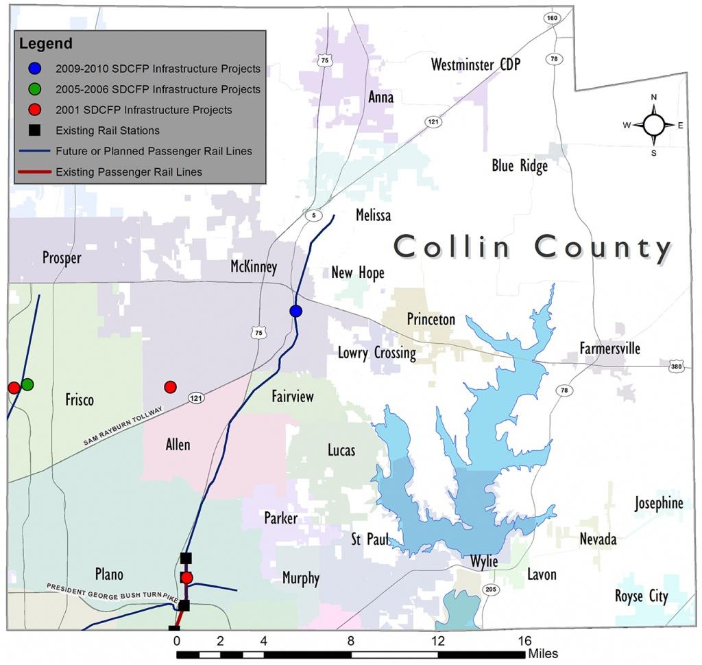 North Central Texas Council Of Governments - Collin County - Collin County Texas Map