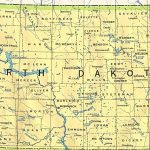North Dakota Maps   Perry Castañeda Map Collection   Ut Library Online   Printable Map Of North Dakota