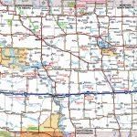 North Dakota Road Map   Printable Map Of North Dakota