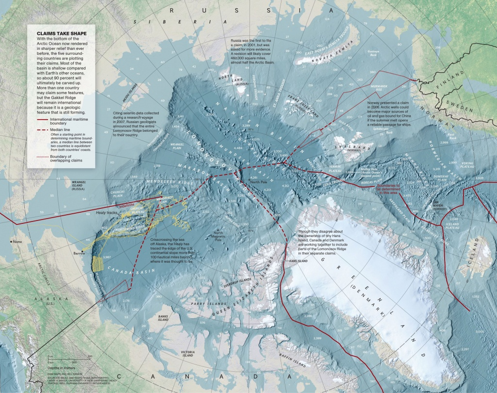 North Pole Map | National Geographic Society - National Geographic Printable Maps
