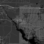 North Port, Florida   Area Map   Dark | Hebstreits Sketches   Where Is Northport Florida On The Map