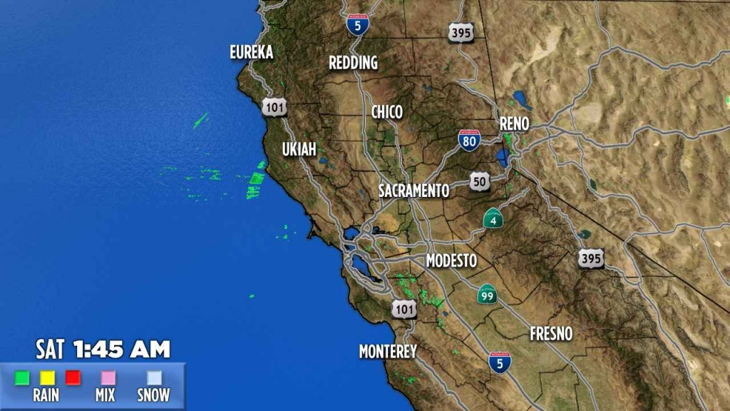 Northern California | Abc7News - Northern California Weather Map