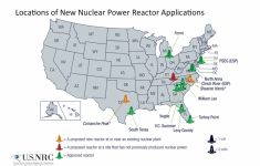 Nrc: Location Of New Nuclear Power Reactor Applications – Nuclear Power Plants In Texas Map