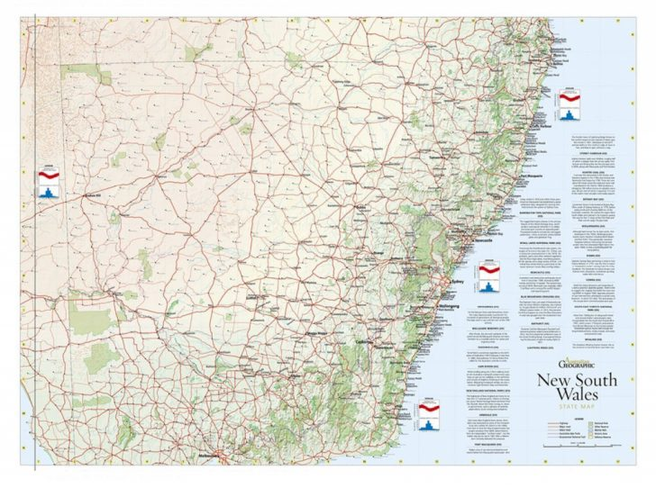 Printable Map Of Nsw