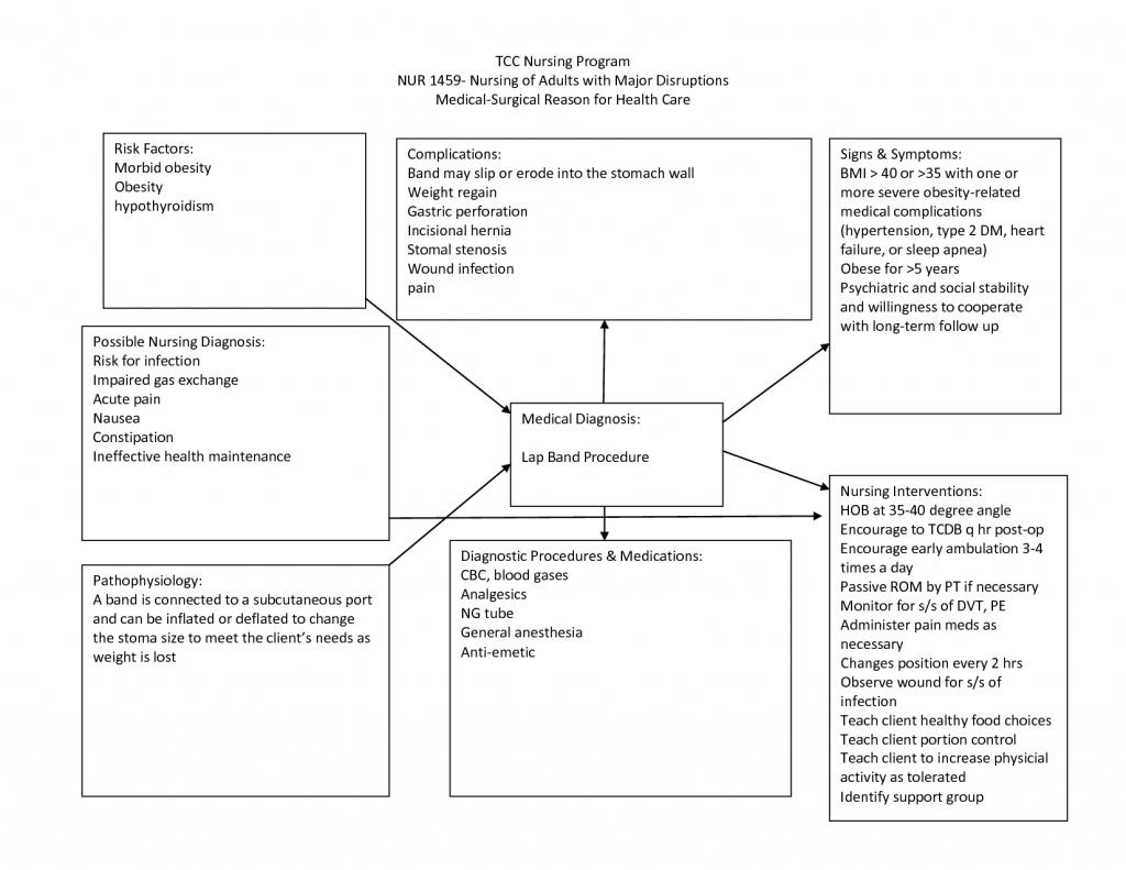Nursing Diagnosis Concept Maps | Scope Of Work Template | Nurses - Blank Nursing Concept Map Printable
