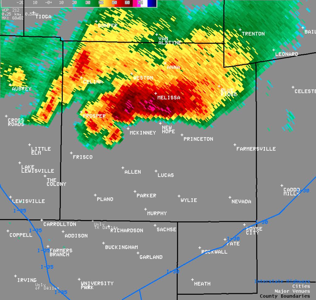 Nws Ft. Worth - North Texas Radar Map